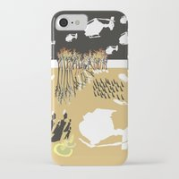 war iPhone & iPod Cases featuring war by DONA USTRA