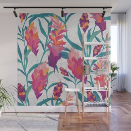 Ginger Pattern Wall Mural