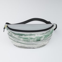 Explosive Green Surf of the St-Lawrence Fanny Pack