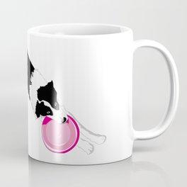 Disc Dog - Border Collie Coffee Mug