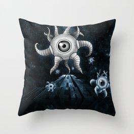 The Watchers Throw Pillow