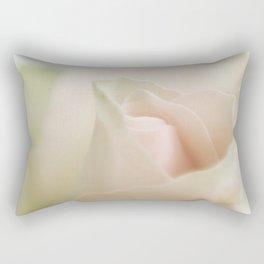 Pale pink macro rose 2 Rectangular Pillow