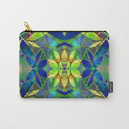 Floral Fractal Art G373 Carry-All Pouch