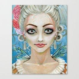 Marie Antoinette Faerie Canvas Print