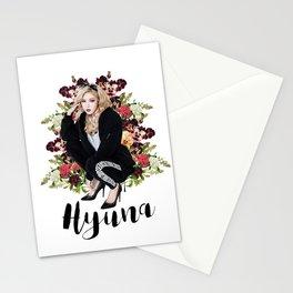 Bad Gal Hyuna Stationery Cards