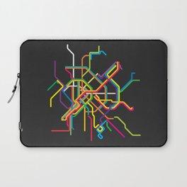 budapest metro map Laptop Sleeve