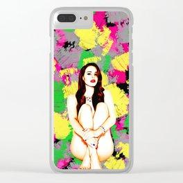 Lana - Celebrity Art (Nude Art) Clear iPhone Case