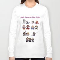 nori Long Sleeve T-shirts featuring Sailor Dwarves of Erebor by Rshido