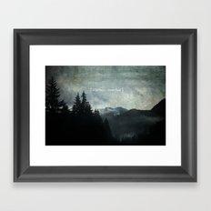 Wilderness Wonderland Framed Art Print