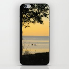 Go Kayaking iPhone Skin