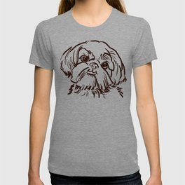 The sweet Shih Tzu dog love of my life! T-shirt