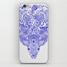 Little Blue Deer iPhone & iPod Skin