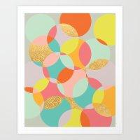 fancy Art Prints featuring Fancy by K&C Design
