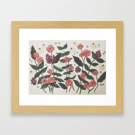 Floral  no. 1  Framed Art Print