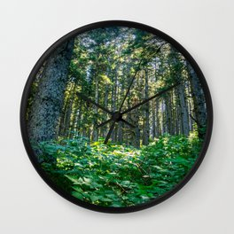 Mossy Heights Wall Clock