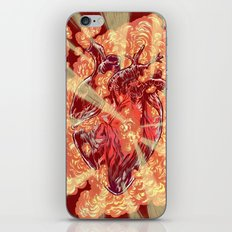 Heart Explosion iPhone Skin