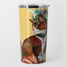 Wizard Cat Travel Mug
