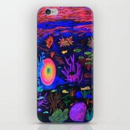Deep Sea at Sunset iPhone Skin