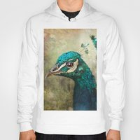 peacock Hoodies featuring Peacock by Pauline Fowler ( Polly470 )