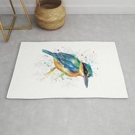 Sketchy Sacred Kingfisher Rug