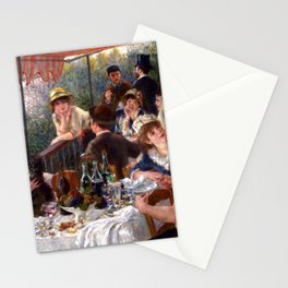 Pierre Auguste Renoir Luncheon of the Boating Party Stationery Cards