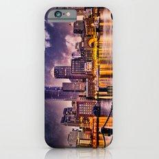Skyline of Boston Harbor iPhone 6 Slim Case