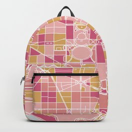 Washington map Backpack