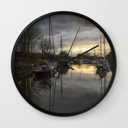 In For The Night Wall Clock