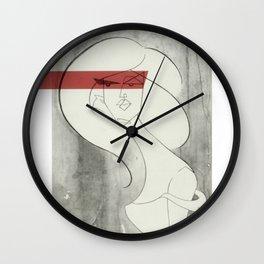 wanton eyes Wall Clock