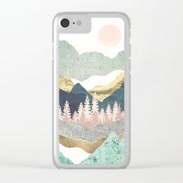 Summer Vista Clear iPhone Case