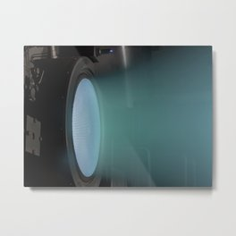 355. Ion Thruster Sets World Record Metal Print