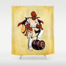 Captain Ackbar Shower Curtain