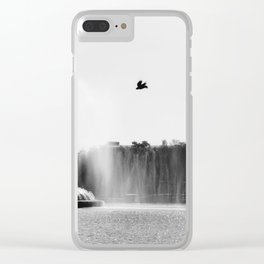 Over The Lake Clear iPhone Case