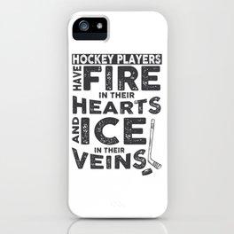 Hockey Players iPhone Case