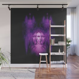 Hemispheres - reloaded - purple Wall Mural
