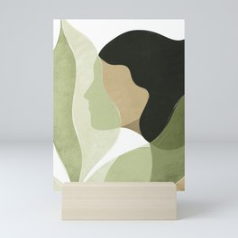 Palm leaf Mini Art Print