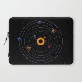 Sunflower system Laptop Sleeve