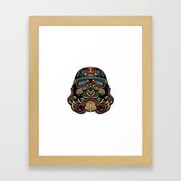 Secret Shopper Framed Art Print