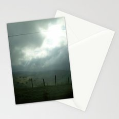 wired sky Stationery Cards