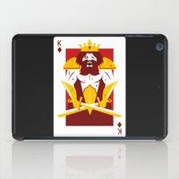 berserk iPad Cases featuring King of Diamonds - Berseker King by Thirdway Industries Shop