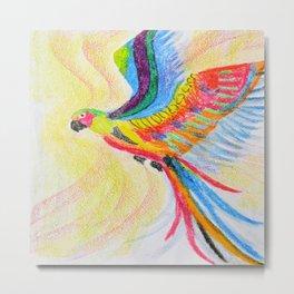 A parrot Metal Print
