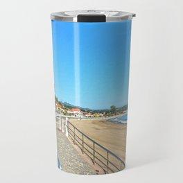 Ribadesella beach Travel Mug
