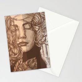Pretty Peachy Stationery Cards