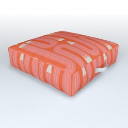 Wonky Pencils Outdoor Floor Cushion
