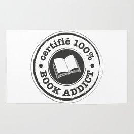 Certifié 100% Book Addict Rug