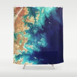 Destination - Gold Coast Shower Curtain