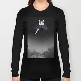 Hollow Knight in the Abyss Long Sleeve T-shirt