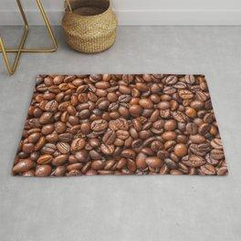 roasted coffee beans Rug