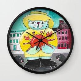 Maryland Cat Wall Clock