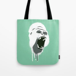 Gorilla Head Tote Bag